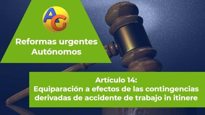 Art. 14 reformas urgentes autónomos 2017