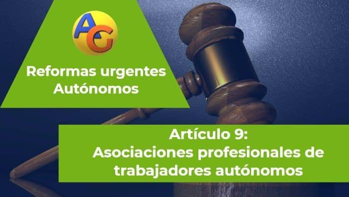 Art. 9 reformas urgentes autónomos 2017