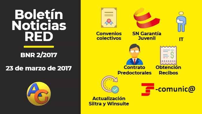 Resumen Boletín Noticias RED 02-2017