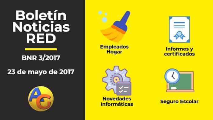 Resumen Boletín Noticias RED 03-2017