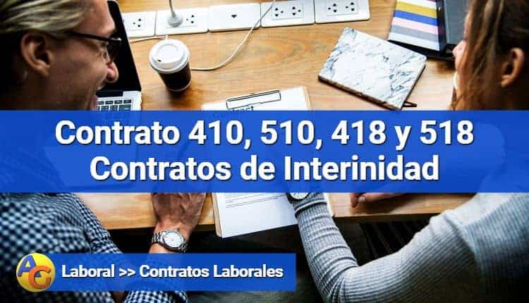 Contratos de interinidad