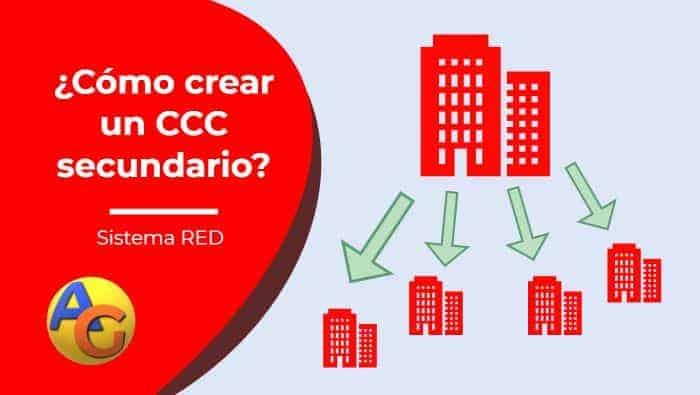 Crear CCC secundario sistema RED