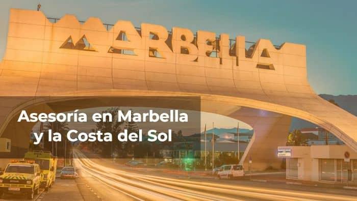 Asesoría en Marbella y la Costa del Sol