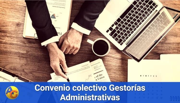 Convenio colectivo estatal Gestorías administrativas